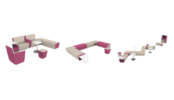 Meta Collaborative Office Couch By HNI India